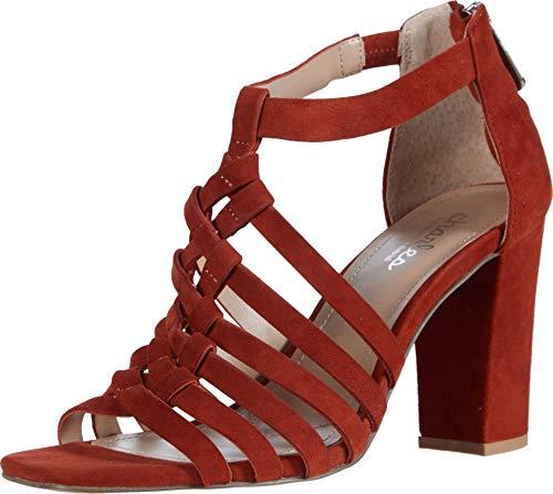 CHARLES BY CHARLES DAVID Women's High Heel Sandal Pump, Russet , 10 medium US