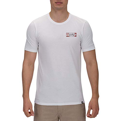 Hurley M DRI-FIT Billow S/S Tee Shirts Homme, White, FR (Taille Fabricant : XL)