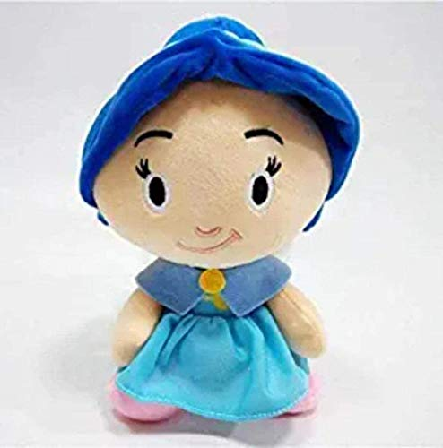 DINEGG Cartoon Puppe Plüsch Spielzeug Cartoon Aladdin Plüschtier Jafar Jasmine Genie angefüllt S Plüsch Puppe 25cm Halloween Dekoration Cartoon Spielzeug Qianmianyuan YMMSTORY