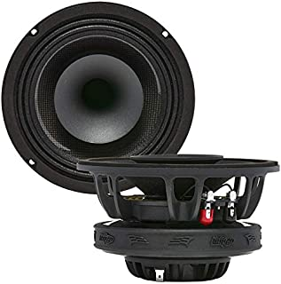 """Audio Legion MR6F 6.5"""" 400 Watt Marine Pro Driver Coaxial Speakers - Full Frequency Range, Water Resistant and Durable Spe... photo"""