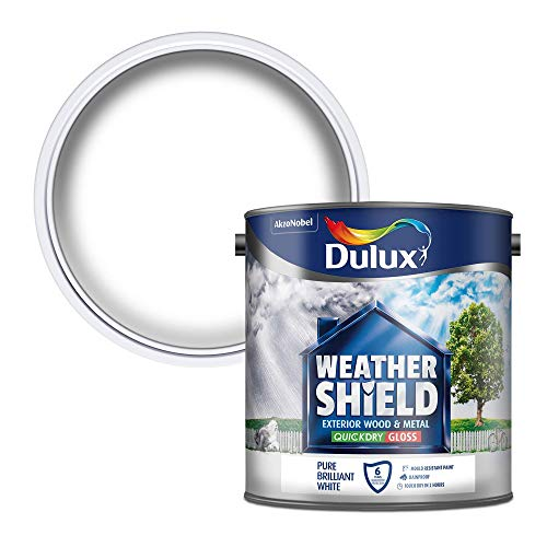 Dulux Weather Shield Quick Dry Gloss Paint