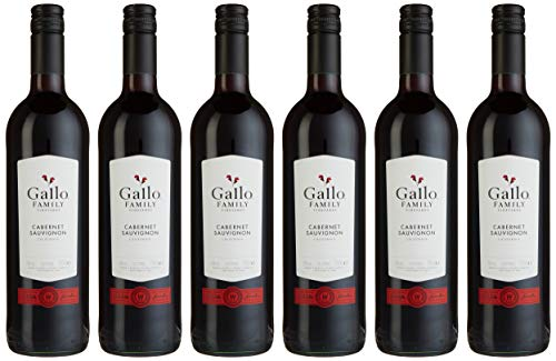 Gallo Family Vineyards Cabernet Sauvignon Ernest und Julio Halbtrocken (6 x 0.75 l)