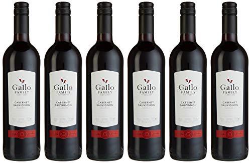 Gallo Family Vineyards Cabernet Sauvignon Ernest und Julio Halbtrocken (6 x 0.75 l)