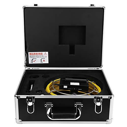 Monitor de cámara Práctico Cómodo de usar Cámara de vigilancia para investigación submarina Suministro de agua Aire(Cable length 40m)