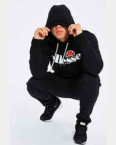 ellesse SL Gottero Cotton Black Hoodie XL Black