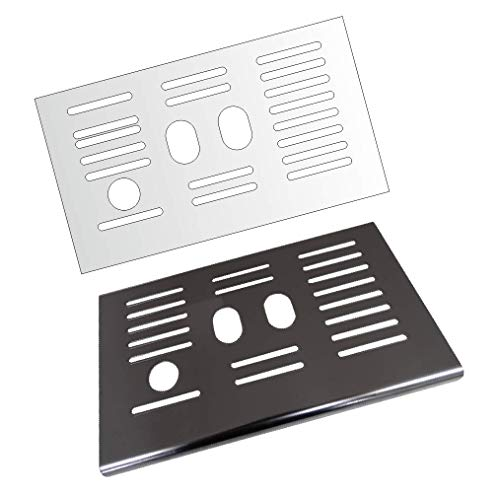 3 x Schutzfolie für DeLonghi ETAM Autentica Cappuccino 29.660 & 29.666 - Abtropfblech - Tassenablage - Tropfblech