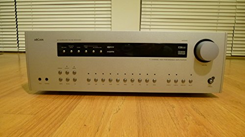 Arcam AVR600 High-End AV-Reveiver (HDMI, Upscaler 1080p, FM/AM-RDS-Tuner) schwarz