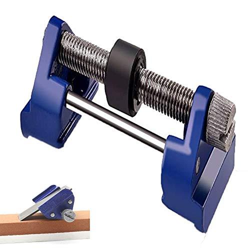 Honing Guide - Past op beitels en schaafmessen, gietijzer vaste hoek zijklemmen met Roller Ring klembreedte bereik 0~90 Mm Handmatige messenslijper (stijl met huls)