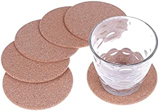 Dinnerware Sets - 100mm Round Plain Cork Coasters Custom Coffee Beer Drink Wine Mats Supply - Navy White Rainbow Embossed Pink Weight Italian Animals Under Ivory Unusual Basics Pattern S