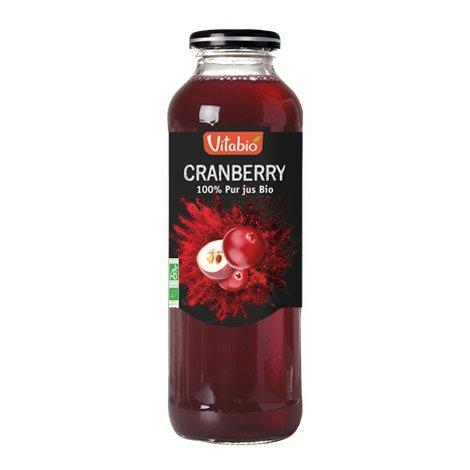 Pur jus de Cranberry bio - 50 cl