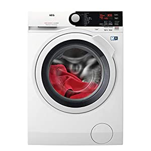 AEG L7FBE841 Independiente Carga frontal 8kg 1400RPM A+++-30% Blanco – Lavadora (Independiente, Carga frontal, Blanco…
