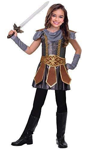 Fancy Me Mädchen Niedlich Warrior Römischer Gladiator Grichischer Kämpfer International Historisch Tv Buch Film Kostüm Kleid Outfit 5-12 Jahre - 7-8 Years