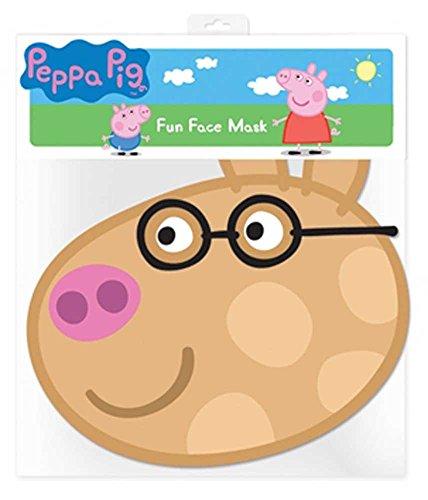 empireposter Peppa Pig Pedro Pony – Masque en Carton Brillant Haute qualité en Carton avec Trous pour Les Yeux et élastique 30 x 20 CM