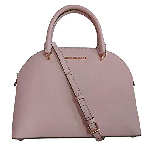 "Made of Saffiano leather Removable shoulder strap with 20"" drop, perfect size to carry your daily essentials Interior features 2 slip pockets and 1 zip pocket 12""L x 9.25""H x 5.25""D"