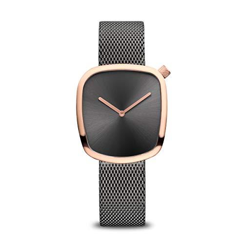 Bering Armbanduhr analog Quarz mit Edelstahl-Armband 18034-369