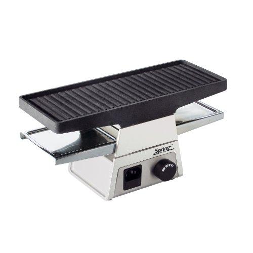 Spring 3067002001 Raclette 2+ Basismodul, Edelstahl, weiß, 40 x 20 x 15 cm
