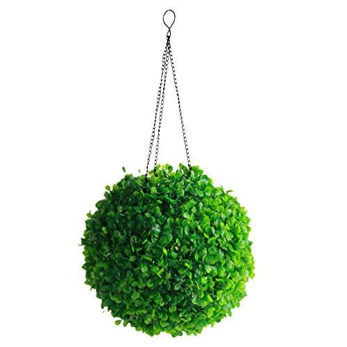 Cabilock Opknoping Solar Lantaarn Lichten Kunstmatige Verlichte Buxus Topiary Bal Waterdicht Gras Bal Lichten Tuin Solar Decoratieve Verlichting Voor Indoor Outdoor Thuis