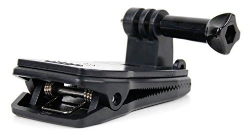 DURAGADGET Clip Morsetto/Pinza per Action Camera ICONNTECHS IT | LMT F60R | miSafes | Mixmart | ONEU | WiMiUS L1