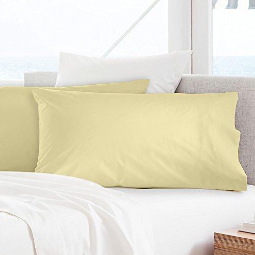 Fundas de almohada de percal 100% algodón egipcio – 300 hilos (50 x 75 cm + 5 + 20 cm solapa), algodón egípcio algodón, Impala, 50 x 75CM + 5 + 20CM flap: Amazon.es: Hogar