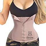 EGD Body Shaper for Woman Waist Trainer Corset for Weight Loss Beauty Quality and Great Comfort (Tan, L)