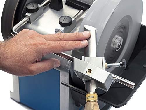 Straight or Curved Edge Sharpener Tormek SVS-50. The Multi-Jig For Sharpening Skew Chisels, Gouges, Beading Tools, and More. Sharpens Curved or Straight Blade Edges.