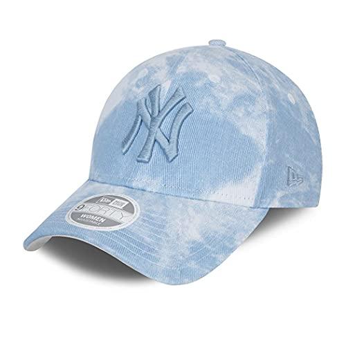 New Era York Yankees MLB cap Basecap Kappe Baseball Damen Frau Denim Blau - One-Size