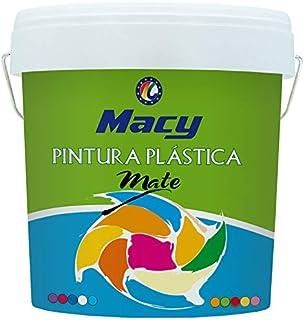 Pintura Plastica Mate Lavable Color Blanco para Interior y E