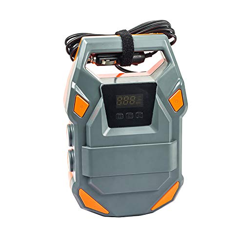 Compresor Bomba De Aire Sin Cable Automática Rechargeable Moto - Compresor Bomba...