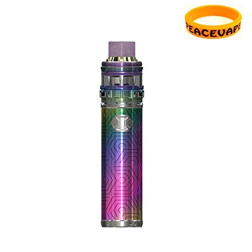 Eleaf IJUST 3 ELLO Duro 2mL 3000 mAh kit di partenza IJUST3 (Arcobaleno) Sigaretta Elettronica Senza Nicotina con PEACEVAPE Vape Band