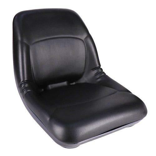 Bucket Seat Black Vinyl Compatible with Kubota B20 B2150 L2250 L3450 L3300 B7200 L3250 L2550 B21 L3650 B1700 B1550 L5450 L2850 L3600 B2100 B8200 L4350 L4200 L2650 B1750 L4850 L2900 B6200 L2950 B2400