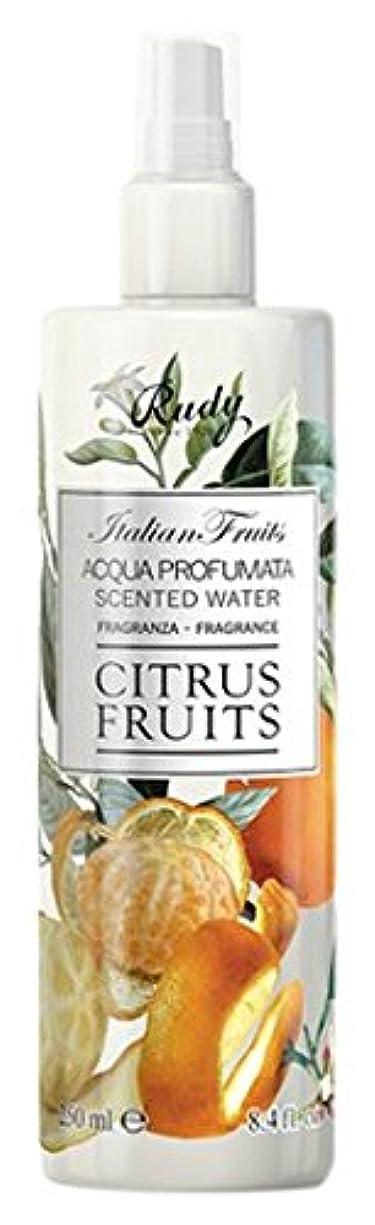 スキーまろやかなウィンクRUDY Italian Fruits Series ルディ イタリアンフルーツ Body Mist ボディミスト Citrus Fruits
