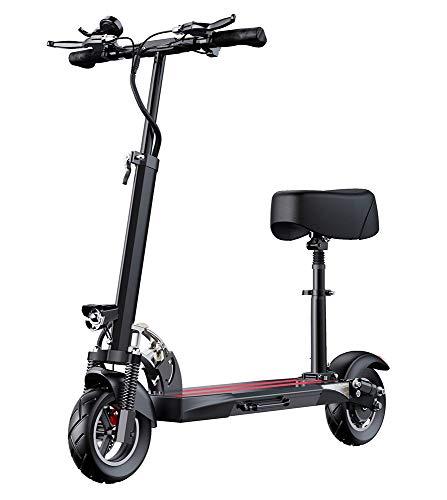 Patinete electrico Adulto y niño, Scooter electrico patinete electrico con asiento con...