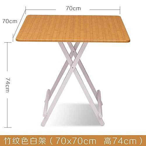 Eettafel LKU Opvouwbare salontafel van massief hout, restaurantmeubilair, picknicktafel voor buiten, 707074