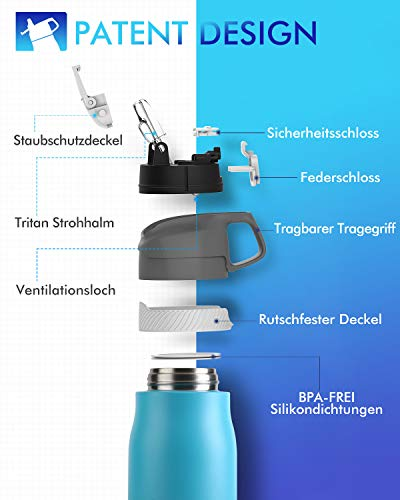 FEIJIAN Cantimploras y botellas de agua