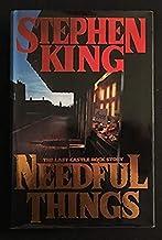 Stephen King NEEDFUL THINGS 1ST edition 1ST PRINT !