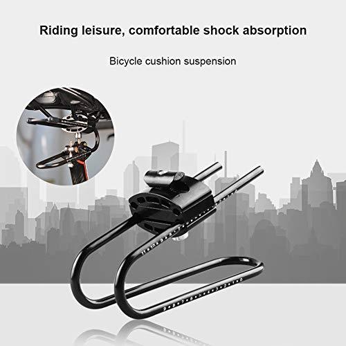 Jeromkewin Bicicletta Sella Sospensione Dispositivo Lega Molla Acciaio Shock Absorber per Mountain Bike Parti Alluminio Lega Molla Acciaio