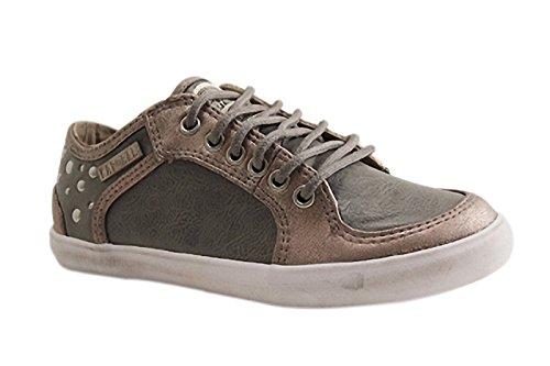 Kaporal Shoes - SAELA - Training Lacet - Gris Clair