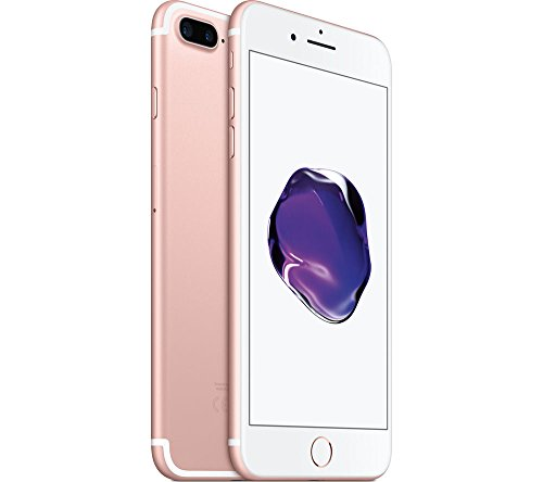 Apple iPhone 7 Plus, 128GB, Rose Gold – Fully Unlocked Desbloqueado (Renewed)
