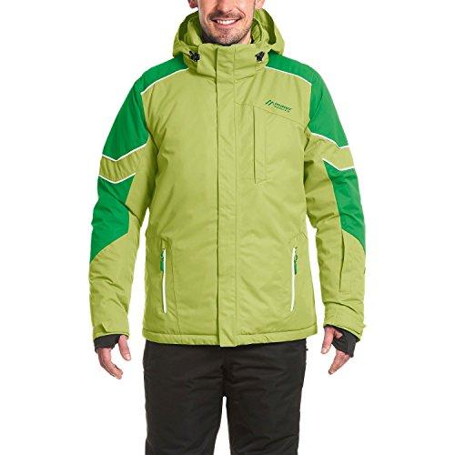 Maier Sports Herren 116975-220 Skijacke He-Jacke mTex Lauterbrunnen Lime - 54