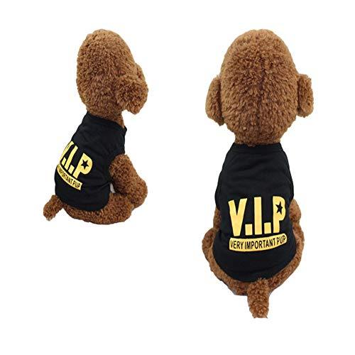 SDFGS Haustier Kleidung, Hunde Hoodies Kleidung, Welpen Herbst Wintermantel, Haustier Dressing Hundetuch, Haustier Welpen Katze Nette Baumwolle, Warme Mantel Pullover (2 Arten VIP-XL