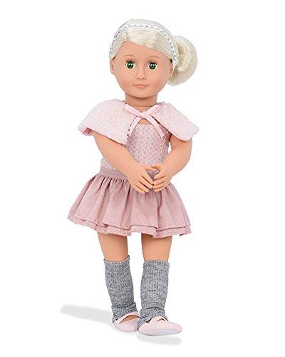 Our Generation BD31106 Doll w/Ballet Dress & Capelet, Alexa