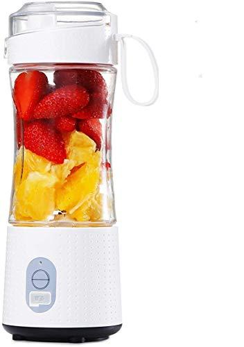 Tragbarer Mixer, Mini-Mixer für Smoothies und Shakes, handgehaltene Obstmischmaschine, 13 Unzen USB-Entsafter-Tasse mit Aufladung, Eismixer-Mixer zu Hause/im Büro/im Freien