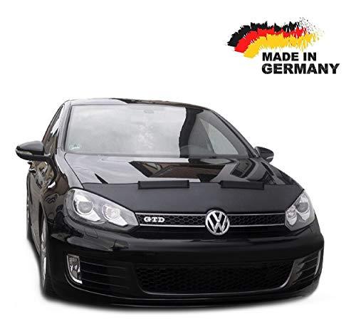 Black Bull Haubenbra für VW Golf 6 Steinschlagschutz Motorhaubenschutz Automaske NEU
