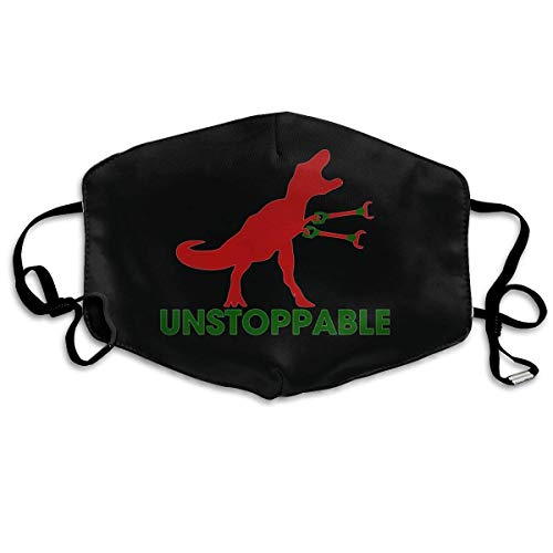 Mundschutz Unisex Reusable Mouth Cover Face Cover with Unstoppable TRex Dust Face Cover Adjustable Earloops