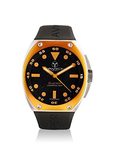 SA AC 1002 Super Tonneau Reloj de Bisel Intercambiable de Aluminio para Hombre