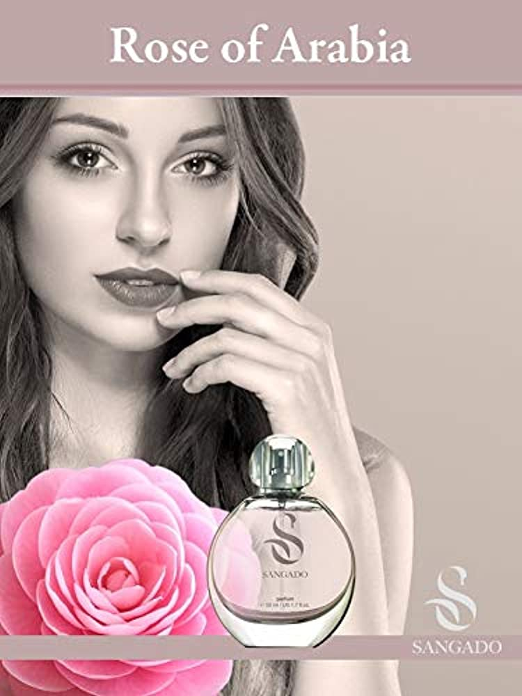 Sangado rosa dell'arabia, profumo per donne,spray da 50 ml 731