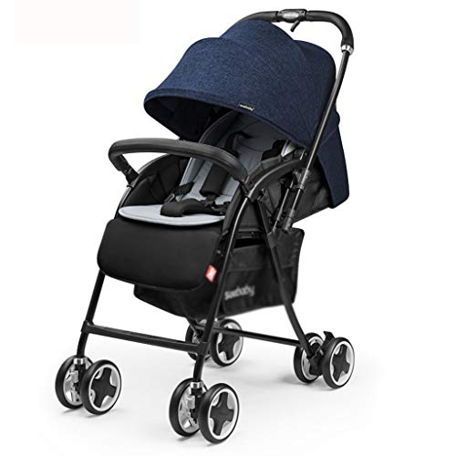 Kinderwagens, licht kan zitten liggende full-Pont, de uitvoering van twee-weg schokdempers BB opvouwbare baby kinderwagen kan zitten of liggen een opvouwbare sleutel,