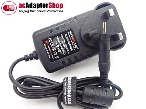GOOD LEAD 12V 2000MA SWITCHING ADAPTOR CHARGER FOR GEMINI NC14 ULTRA SLIM ALUMINIUM LAPTOP