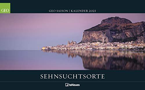 GEO SAISON: Sehnsuchtsorte 2021 - Wand-Kalender - Reise-Kalender - Poster-Kalender - 50x36