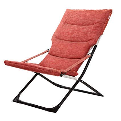 smzzz Schreibwaren Bürobedarf Klappbarer Loungesessel Mittagspause Fauler Stuhl Home Freizeitstuhl Balkon Siesta Stuhl Sessel Sessel Garten Angelstuhl Büro Lounge